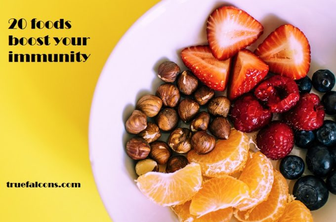 20 foods that boost your immunity